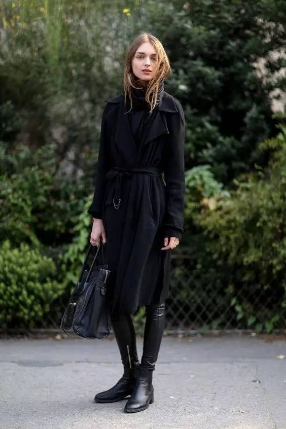 这三款平底鞋配大衣,经典又时髦,绝对是气场十足! 服饰潮流 图70