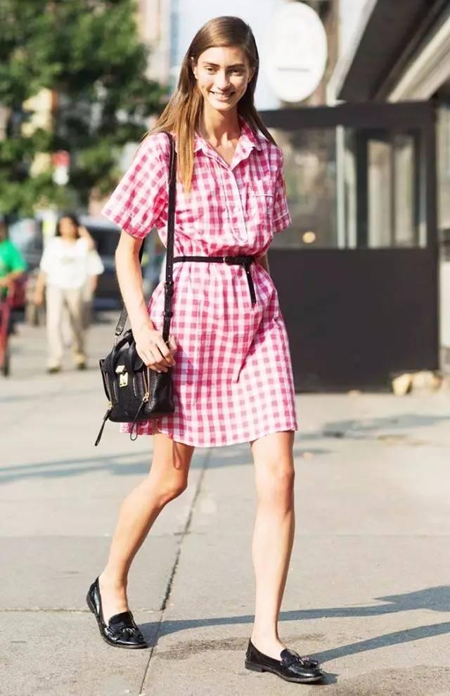 经典百搭的气质衬衫裙又火了,时髦又有女人味! 服饰潮流 图33