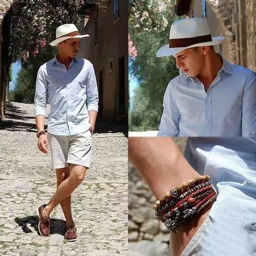 男士夏季短裤怎么搭配,解放双腿玩转时尚。 服饰潮流 图5