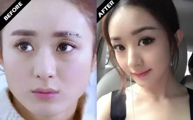 圆圆脸的赵丽颖,靠这几款发型成功瘦脸 美容护肤 图8