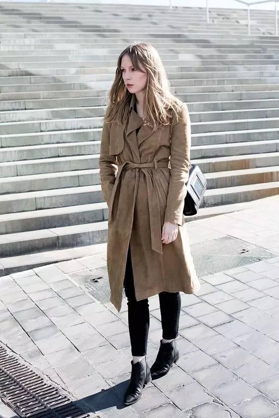 这三款平底鞋配大衣,经典又时髦,绝对是气场十足! 服饰潮流 图89