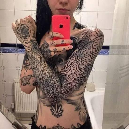 Tattoo & girl 生活方式 图10