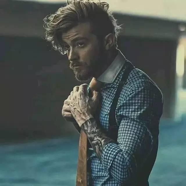 发型|长发又不惹你,反正这几个发型能让你与众不同 男士时尚 图22