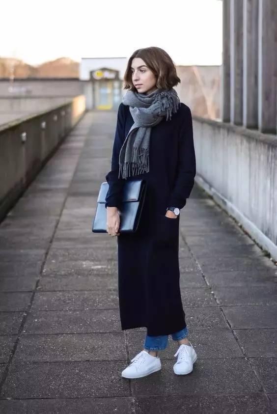 这三款平底鞋配大衣,经典又时髦,绝对是气场十足! 服饰潮流 图16