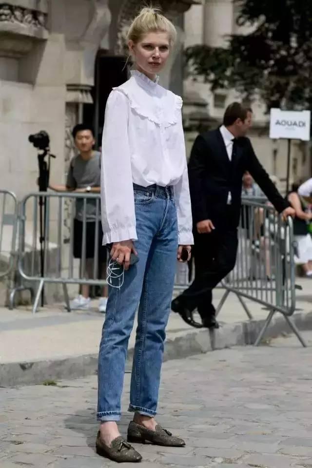 别说白衬衫太一般?那是你没穿这几件! 服饰潮流 图14