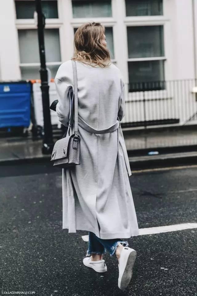 这三款平底鞋配大衣,经典又时髦,绝对是气场十足! 服饰潮流 图17