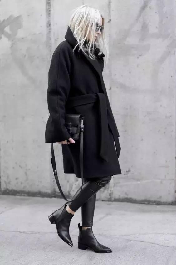 这三款平底鞋配大衣,经典又时髦,绝对是气场十足! 服饰潮流 图66