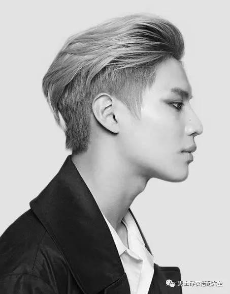 亚洲型男2017流行发型4大经典款 男士时尚 图8