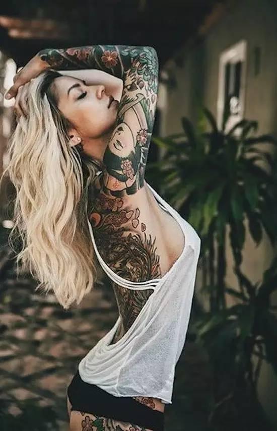 Tattoo & girl 生活方式 图5