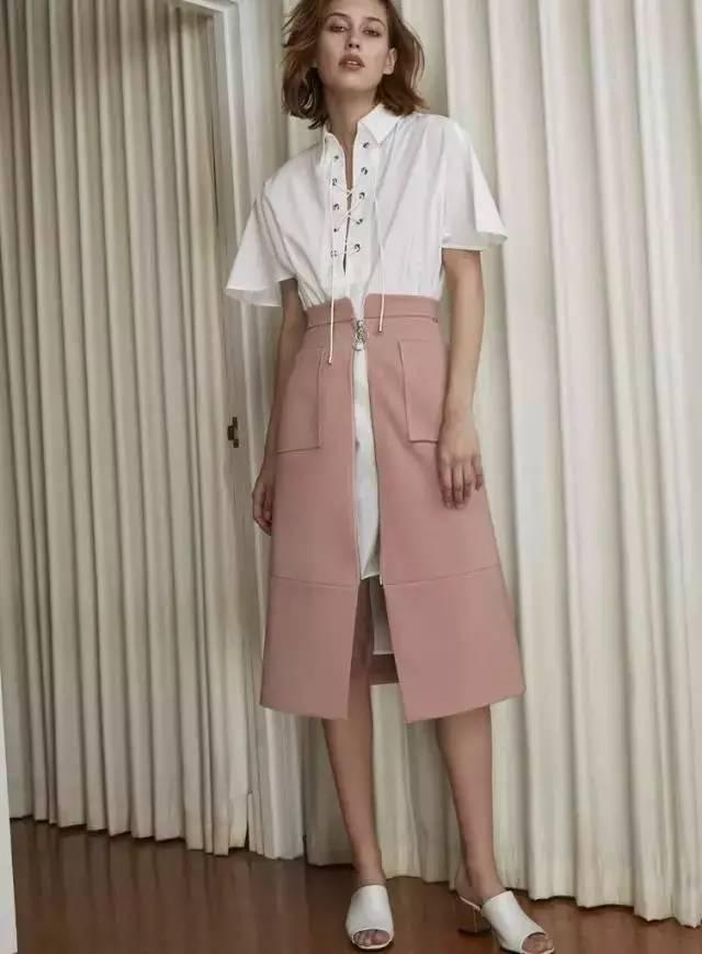 经典百搭的气质衬衫裙又火了,时髦又有女人味! 服饰潮流 图54