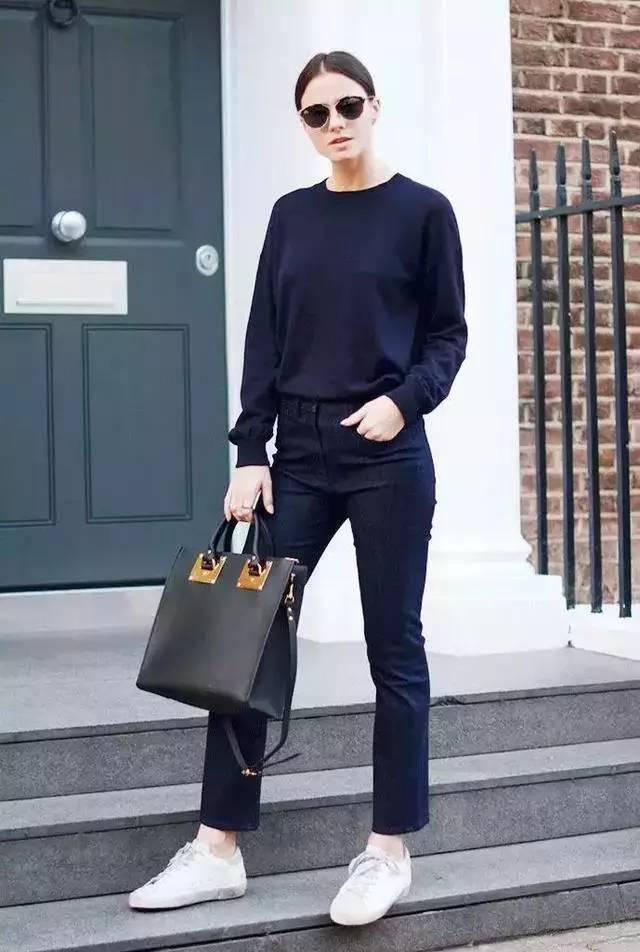 让腿变长变瘦变直的烟管裤,谁穿谁时髦! 服饰潮流 图18