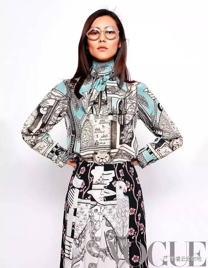 """""""大表姐""""刘雯诠释永不过时的意法风尚 风格偶像 图5"""