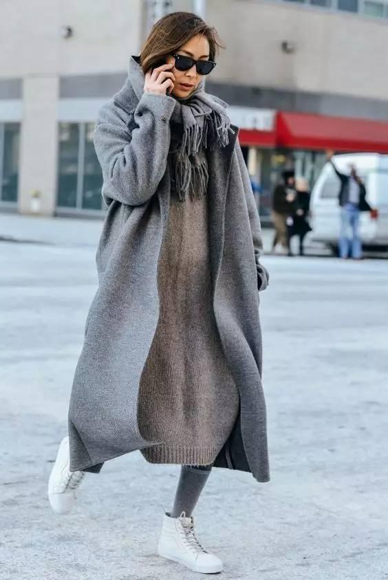 开年上班装就来件毛衣裙,这样穿才是真女神? 服饰潮流 图11