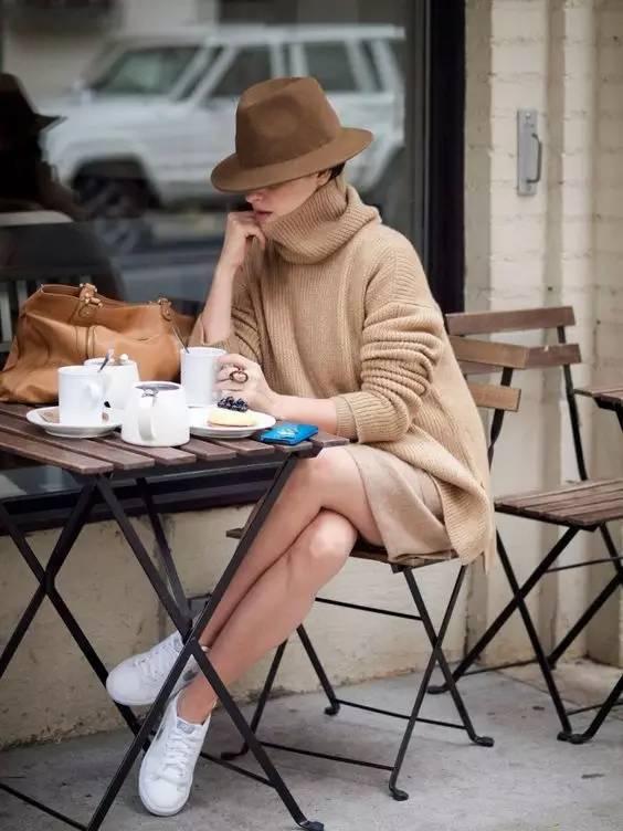 开年上班装就来件毛衣裙,这样穿才是真女神? 服饰潮流 图34