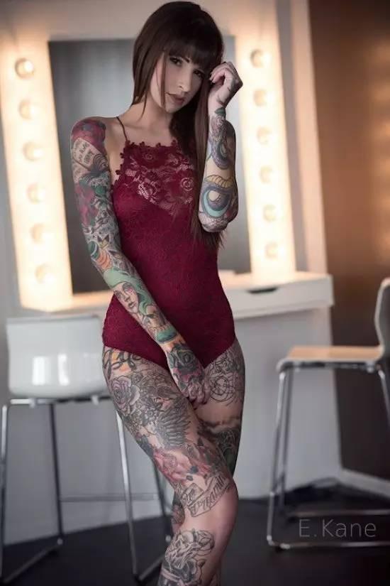 Tattoo & girl 生活方式 图8