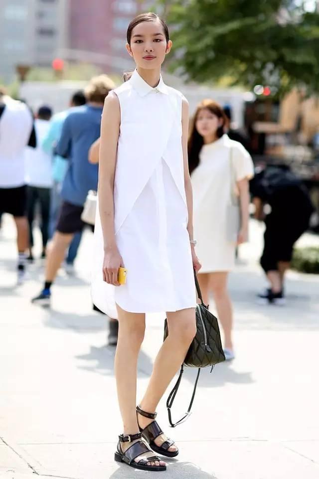 经典百搭的气质衬衫裙又火了,时髦又有女人味! 服饰潮流 图13
