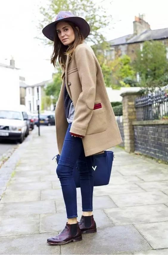 这三款平底鞋配大衣,经典又时髦,绝对是气场十足! 服饰潮流 图86