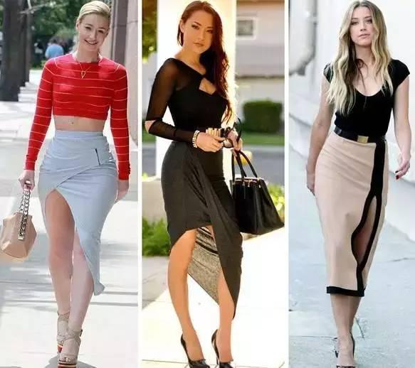 女人千万别乱穿开叉裙,要穿就穿最漂亮的! 服饰潮流 图1