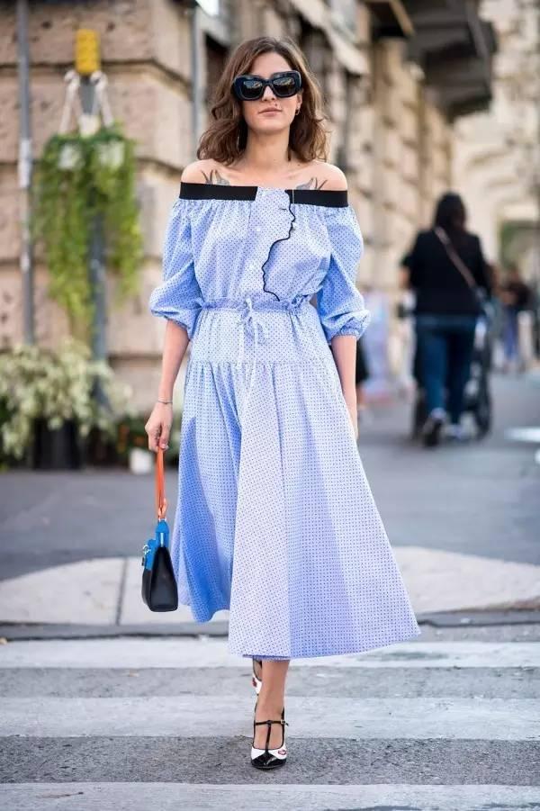 经典百搭的气质衬衫裙又火了,时髦又有女人味! 服饰潮流 图40