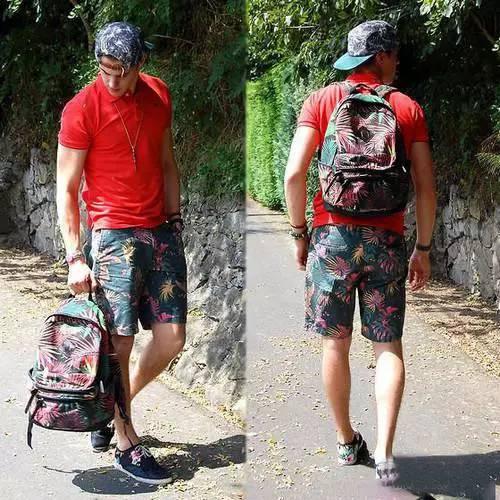男士夏季短裤怎么搭配,解放双腿玩转时尚。 服饰潮流 图3