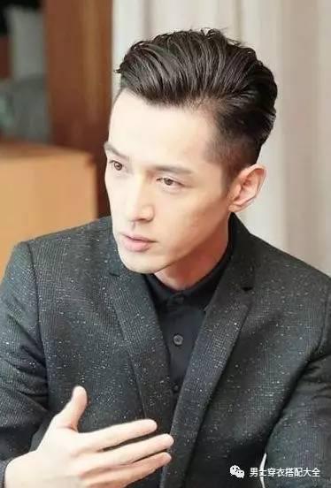亚洲型男2017流行发型4大经典款 男士时尚 图28