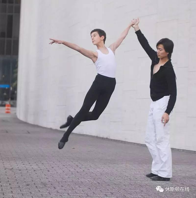 """喜欢跳舞的休斯顿男孩快到碗里来!""""芭蕾王子""""等你来演呐"""