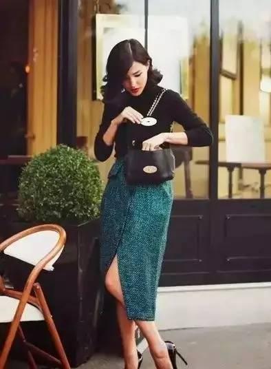 女人千万别乱穿开叉裙,要穿就穿最漂亮的! 服饰潮流 图8