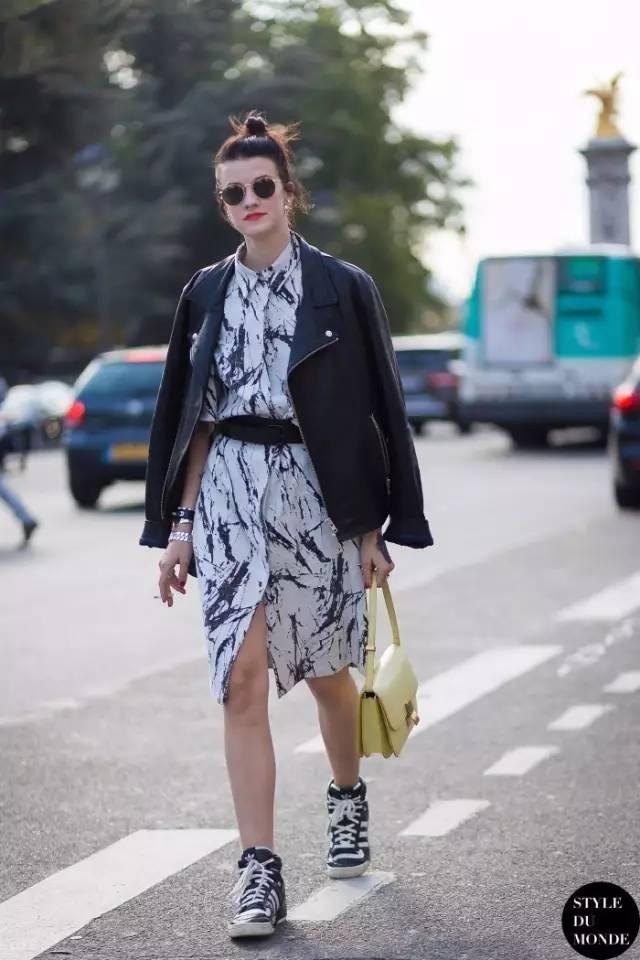 经典百搭的气质衬衫裙又火了,时髦又有女人味! 服饰潮流 图65