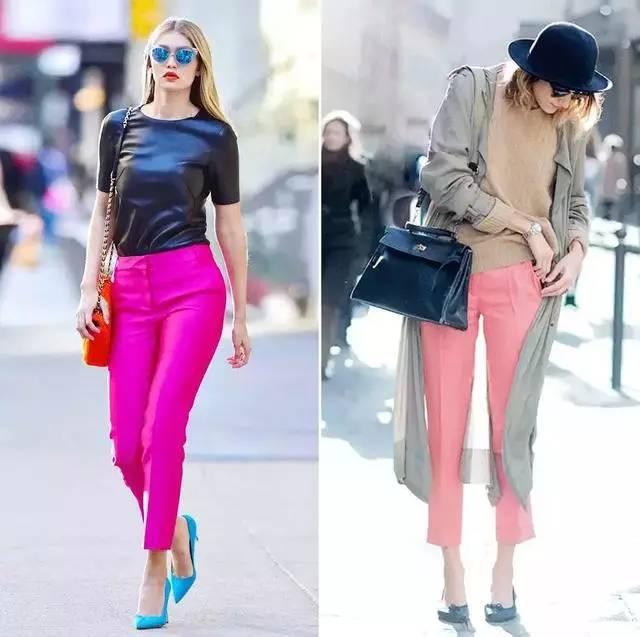 让腿变长变瘦变直的烟管裤,谁穿谁时髦! 服饰潮流 图16