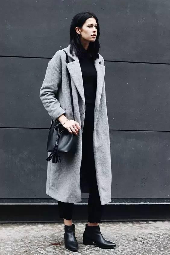 这三款平底鞋配大衣,经典又时髦,绝对是气场十足! 服饰潮流 图78