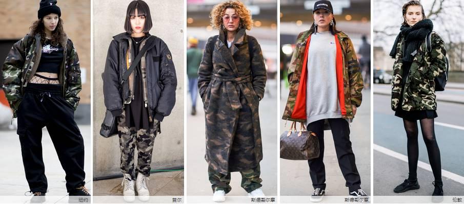 时尚街拍 | 2017/18秋冬全球时装周街拍:女装印花 & 图像 风格偶像 图4