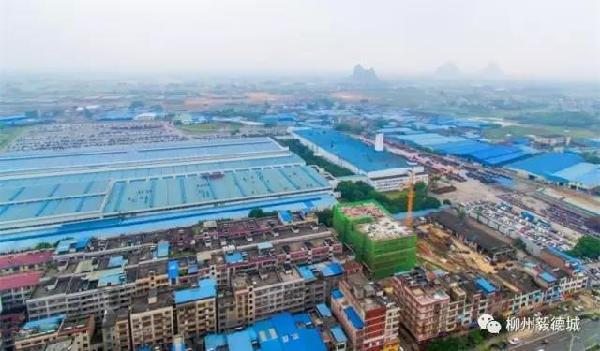 白莲大道扩建轨迹日渐清晰   柳江撤县改区 大有作为   1月6日,柳江县正式挂牌成为柳江区.