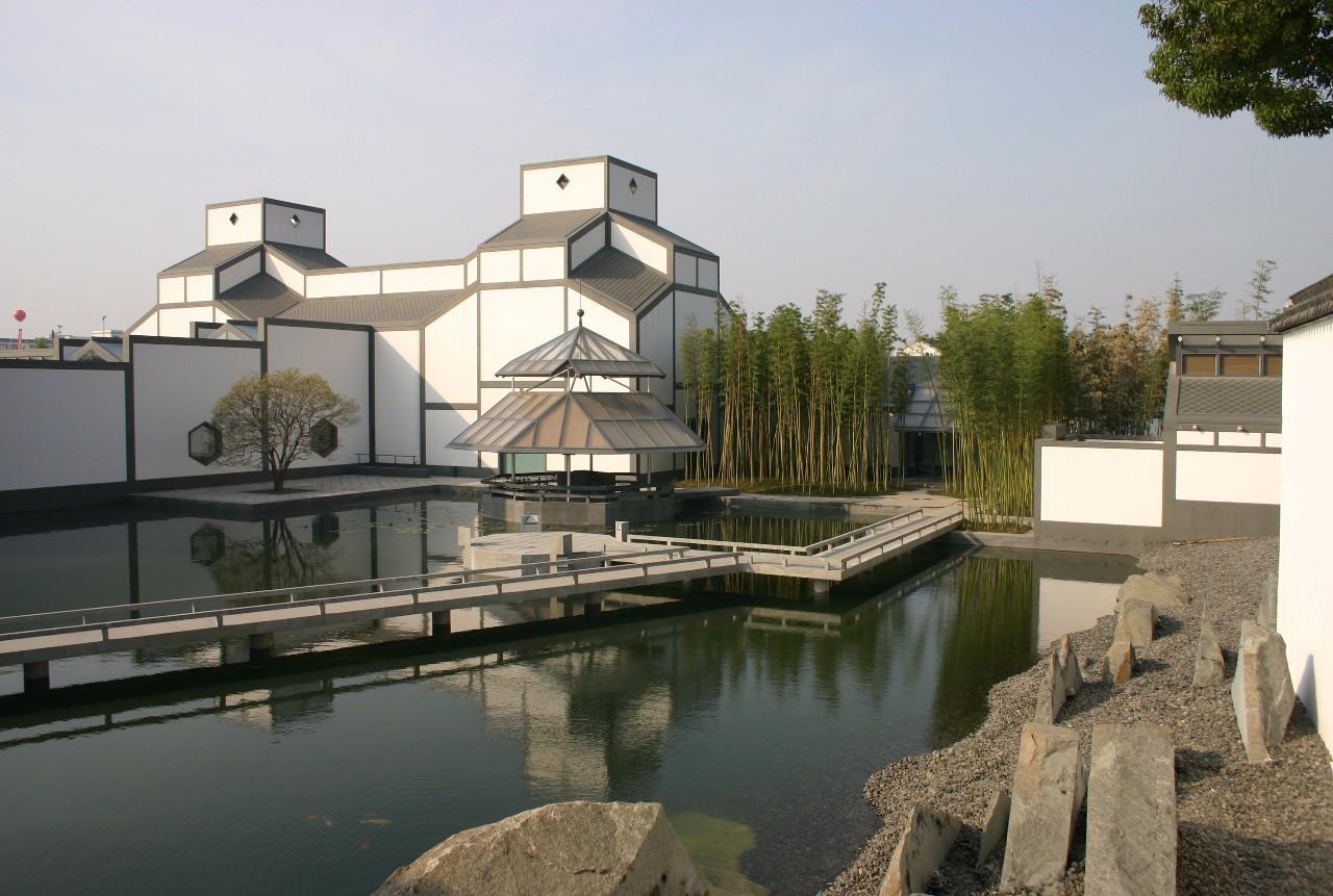苏州博物馆 贝聿铭百年建筑人生的点滴凝结