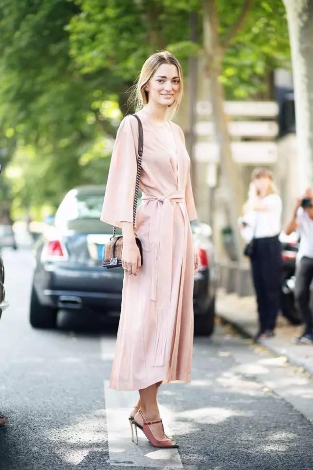 经典百搭的气质衬衫裙又火了,时髦又有女人味! 服饰潮流 图43