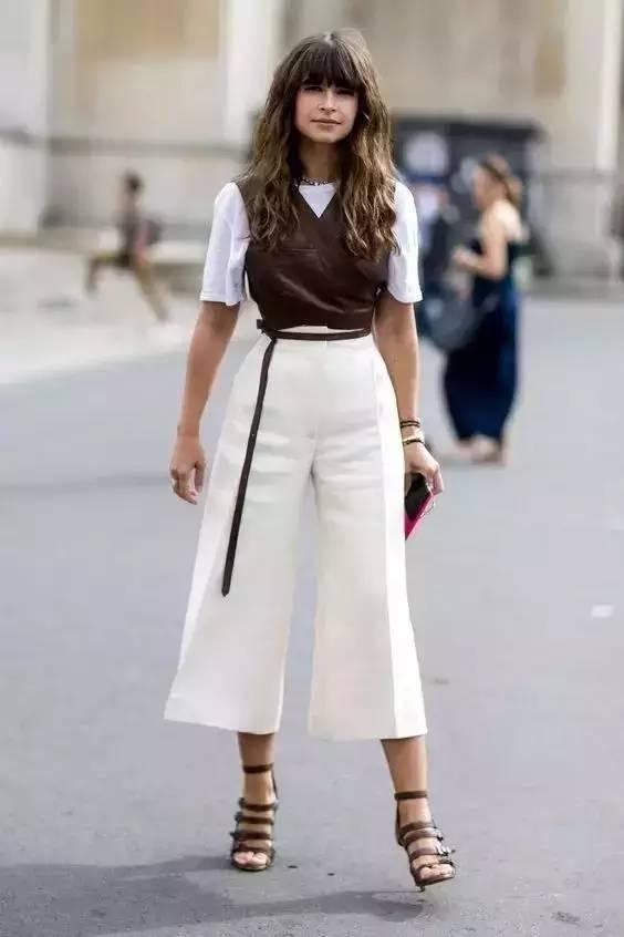 白裤子显胖?NO!这样穿搭,你也能又高又瘦! 服饰潮流 图16