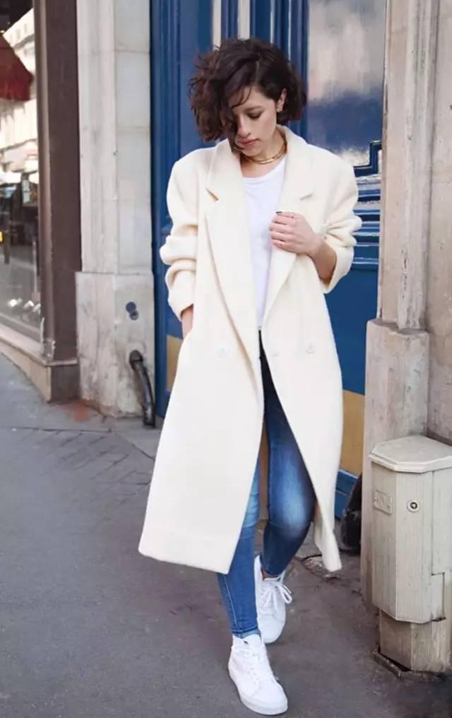 这三款平底鞋配大衣,经典又时髦,绝对是气场十足! 服饰潮流 图28