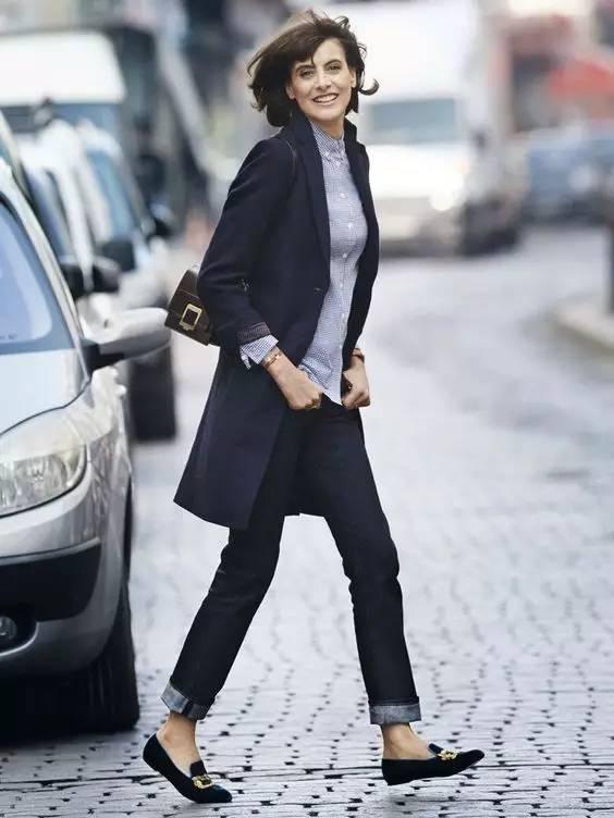 这三款平底鞋配大衣,经典又时髦,绝对是气场十足! 服饰潮流 图61