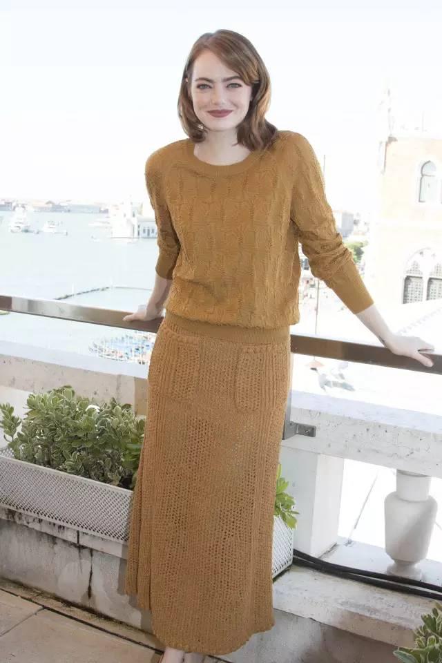 开年上班装就来件毛衣裙,这样穿才是真女神? 服饰潮流 图32