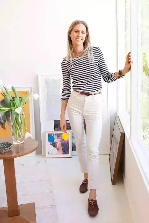 白裤子显胖?NO!这样穿搭,你也能又高又瘦! 服饰潮流 图25