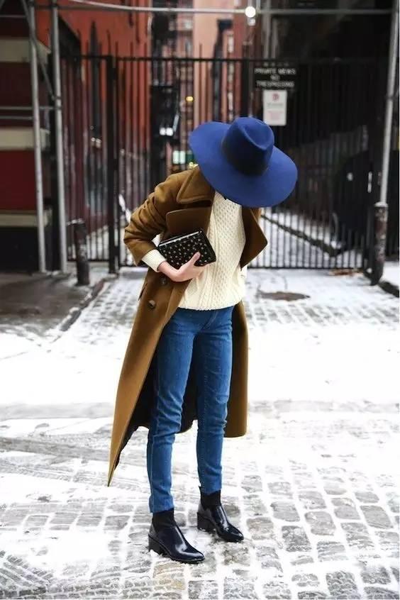 这三款平底鞋配大衣,经典又时髦,绝对是气场十足! 服饰潮流 图91