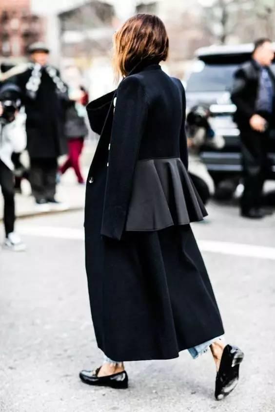 这三款平底鞋配大衣,经典又时髦,绝对是气场十足! 服饰潮流 图60