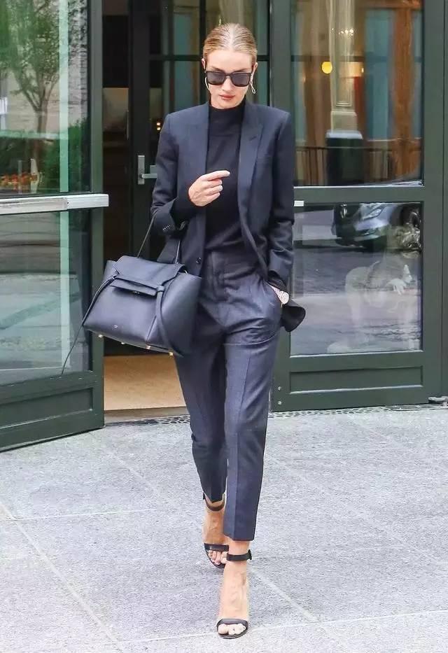 让腿变长变瘦变直的烟管裤,谁穿谁时髦! 服饰潮流 图11