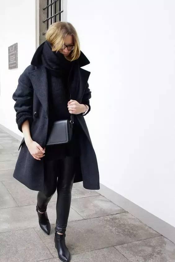 这三款平底鞋配大衣,经典又时髦,绝对是气场十足! 服饰潮流 图71