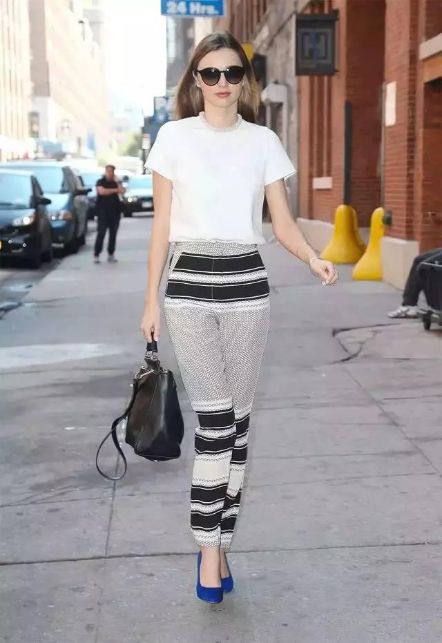 让腿变长变瘦变直的烟管裤,谁穿谁时髦! 服饰潮流 图13
