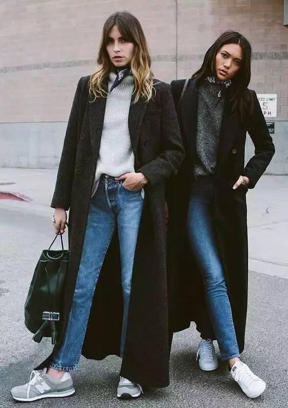 这三款平底鞋配大衣,经典又时髦,绝对是气场十足! 服饰潮流 图3