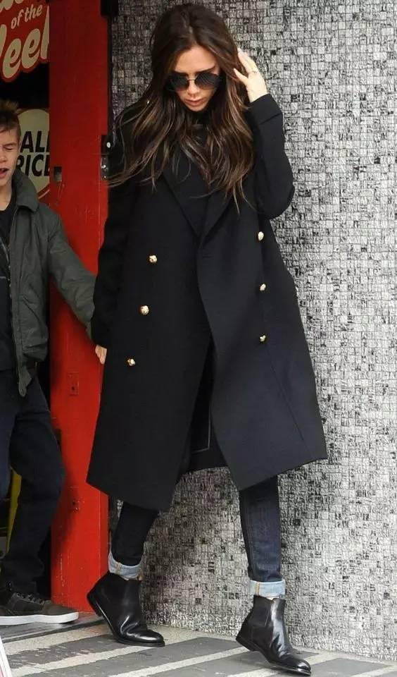 这三款平底鞋配大衣,经典又时髦,绝对是气场十足! 服饰潮流 图68