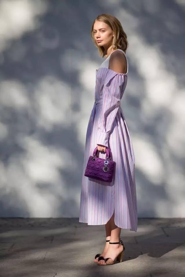 经典百搭的气质衬衫裙又火了,时髦又有女人味! 服饰潮流 图22