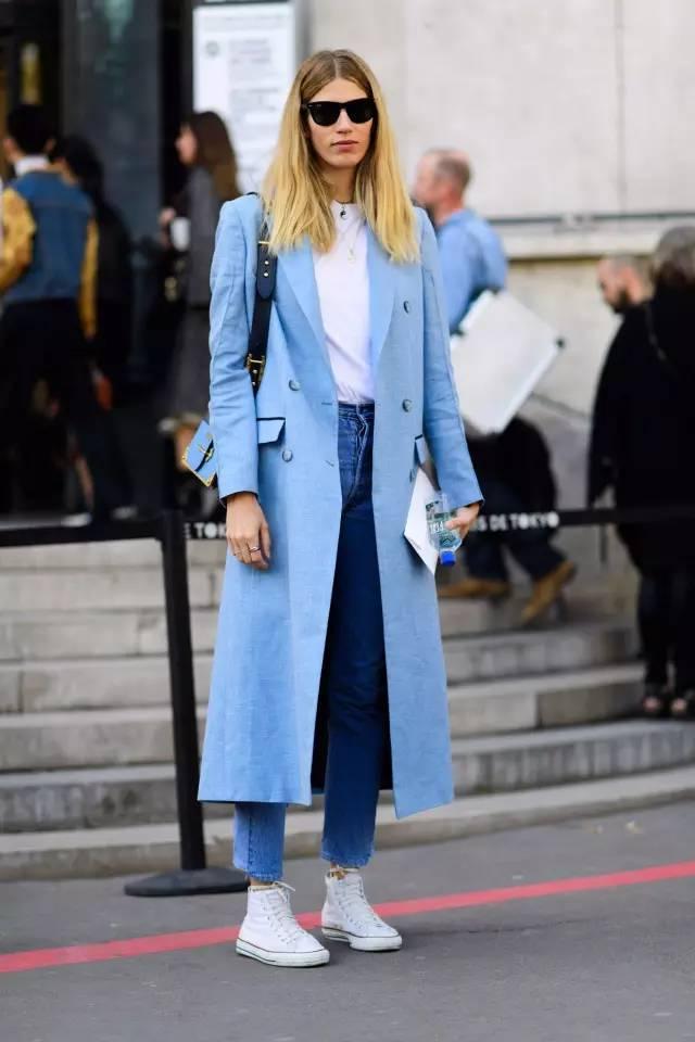 这三款平底鞋配大衣,经典又时髦,绝对是气场十足! 服饰潮流 图5
