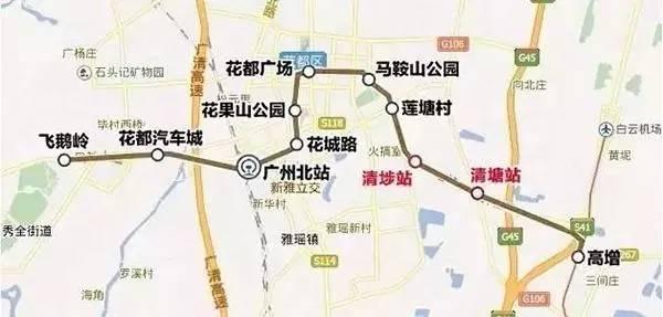 地铁9号线线路图-广州地铁4月最新进度,9号线土建工程完工8成图片