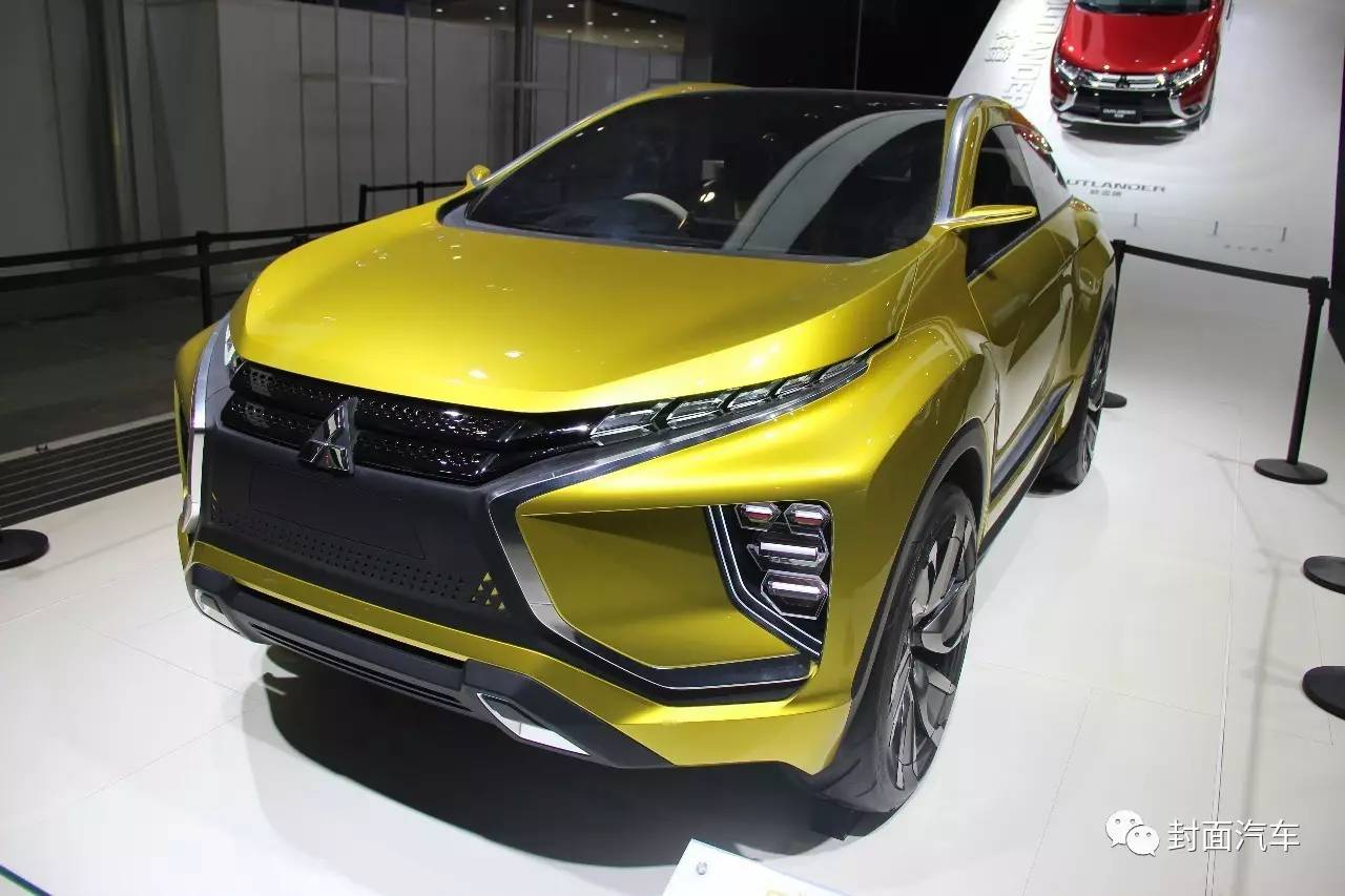 三菱全新SUV概念车中国首秀高清图片
